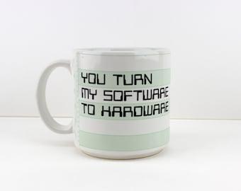 Rare Taylor & NG Compu-Mug 1980s Geek Techie Computer Mug