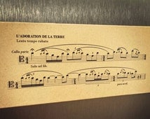 Rite of Spring Bassoon Solo Magnet, Hanging, or Ornament