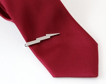 Flash tie clip made with stainless steel