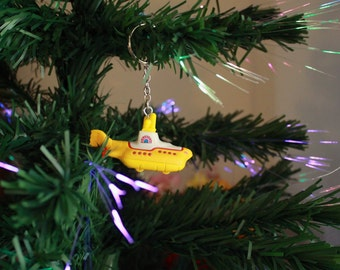 The Beatles Yellow Submarine - Hot Wheels Christmas Tree Ornament