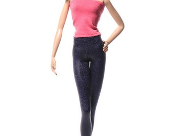Handmade clothes for Barbie (leggings): Singen