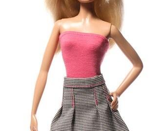 Handmade clothes for Barbie (skirt): Imola