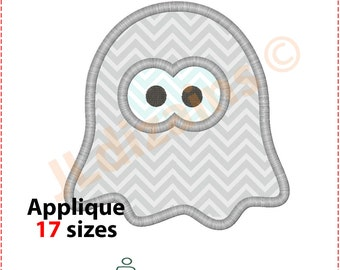 Ghost Applique Design. Ghost embroidery design. Embroidery halloween. Halloween applique design. Embroidery ghost. Machine embroidery design