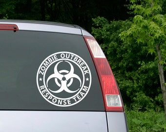 Zombie Outbreak Response Team Decal, Zombie Outbreak Decal, Toyota, Tacoma Decal, Yeti Decal, Vinyl Decal, Car Decal, Custom Decal, Truck