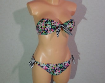 Vintage 80s. One Piece Swimsuit