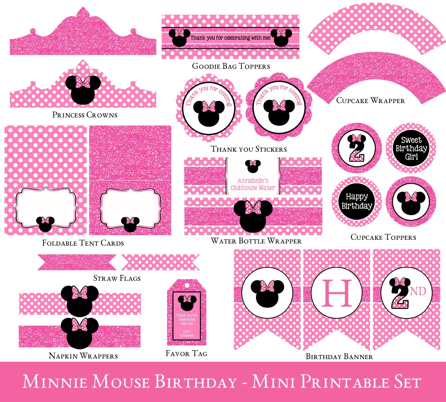 It's just an image of Ambitious Free Minnie Mouse Party Printables