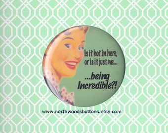Retro 50s Housewife Diva Humor, Diva Buttons Magnets, Diva Princess, Diva Girl, Funny Diva Queen Badge  2.25 pin back button badge or magnet