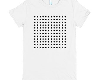 Points - American Apparel - Fine Jersey Short Sleeve Women T-Shirt
