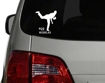 Personalized Gymnastics Car Decal Personalized Gymnastics - Team window decals personalized