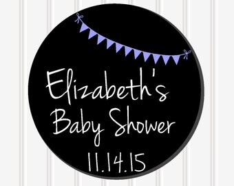 Baby Shower Decor, Personalized Sticker, Favor Stickers, Baby Shower Stickers, Custom Stickers, Baby Shower Favor, Baby Shower Labels, SS37