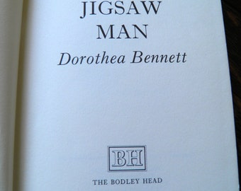 The Jigsaw Man Dorothea Bennett, 1977 UK First Edition Hardback