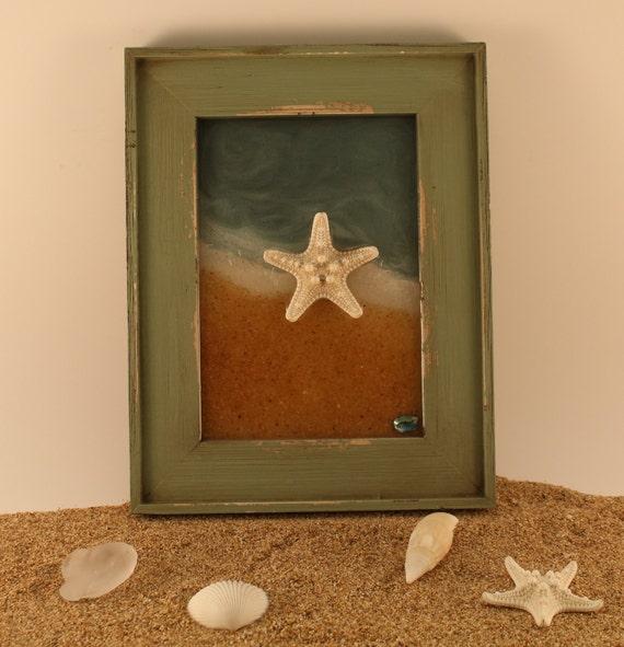 Items similar to starfish decor resin art beach decor for Beachy decor items