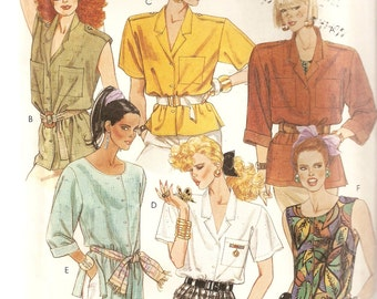 REDUCED PRICE!  VINTAGE McCall's Sewing Pattern 2996 - Women's Clothes - Misses Shirts