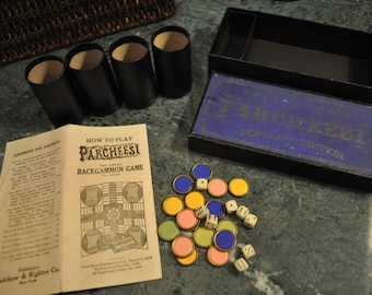 Parcheesi A Royal Game of India Popular Edition 1918