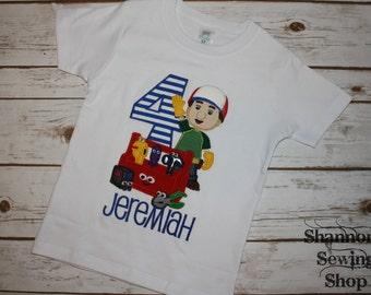 Handy Manny Birthday Shirt