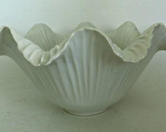 Vintage White bowl Candy Dish Ceramic Porcelain