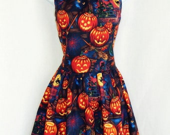 Halloween pumpkin dress.
