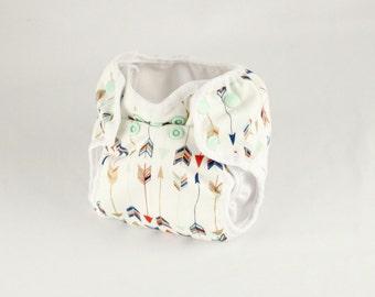 Arrow Newborn Cloth Diaper with umbilical cord snap