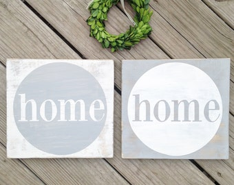Home sign, home wood sign, housewarming sign, housewarming gift, home sweet home, home is wherever i'm with you, home sweet home sign, sign