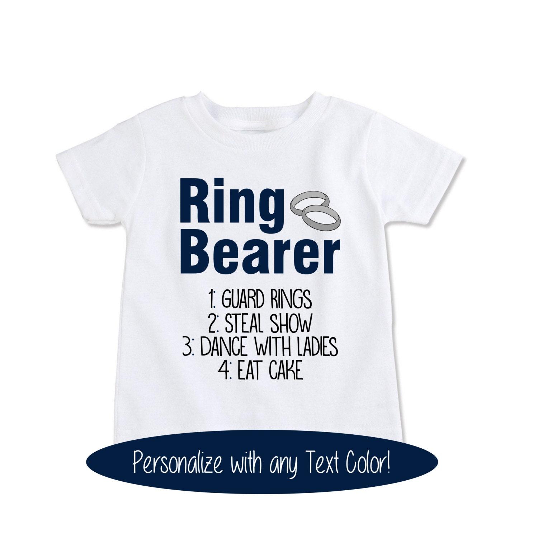 Wedding Gift Ideas For Ring Bearer: Ring Bearer Gift Wedding Ring Bearer Shirt RingBearer Outfit