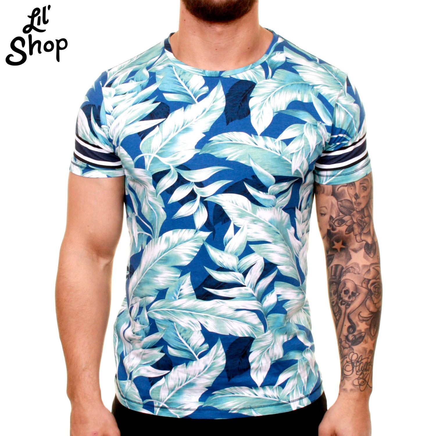 Custom All Over Print T Shirt Dye Sublimation