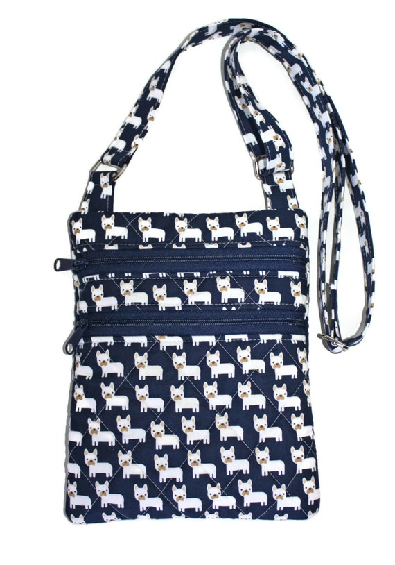 french bulldog purse quilted french bulldog purse crossody purse frenchie fabric 164