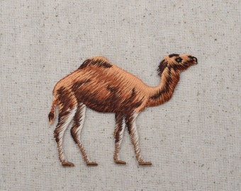 Camel - Desert - Embroidered Patch - Iron on Applique- 114305A