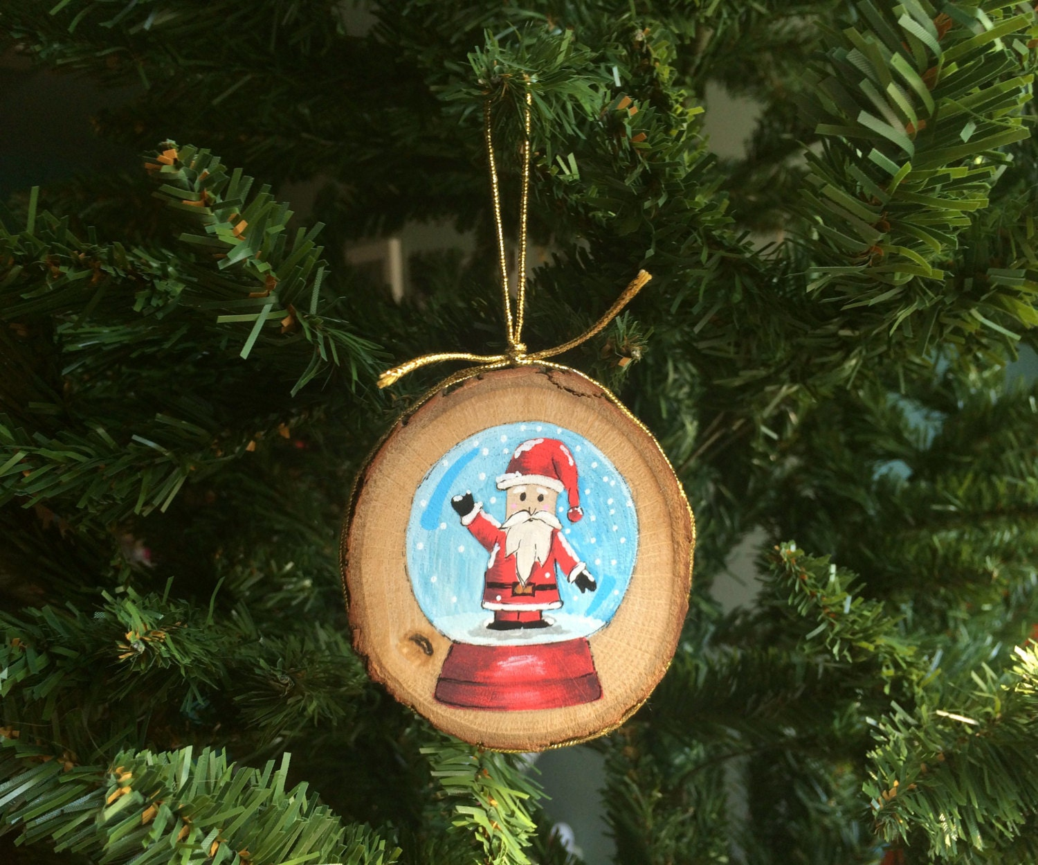 Custom Wood Christmas Ornaments
