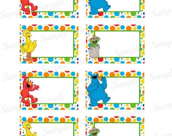 Sesame Street Invitations Printable with adorable invitations template