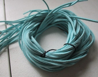 Sold by The Yard (3 feet) Strand Beautiful soft suede lace - Sold by the Yard - Jewelry making supply