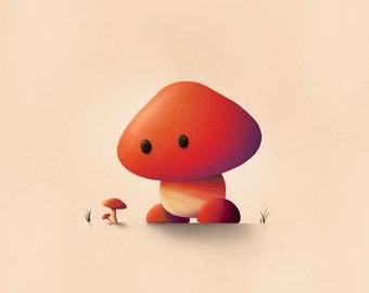 Mario Print / Goomba