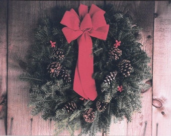 Fresh Maine Balsam Wreath