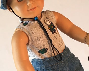 Hiking Outfit for 18 inch boy dolls