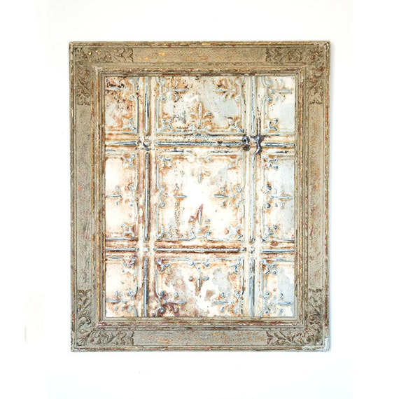 Rustic Antique Wall Decor : Rustic wall art reclaimed vintage frame antique farmhouse