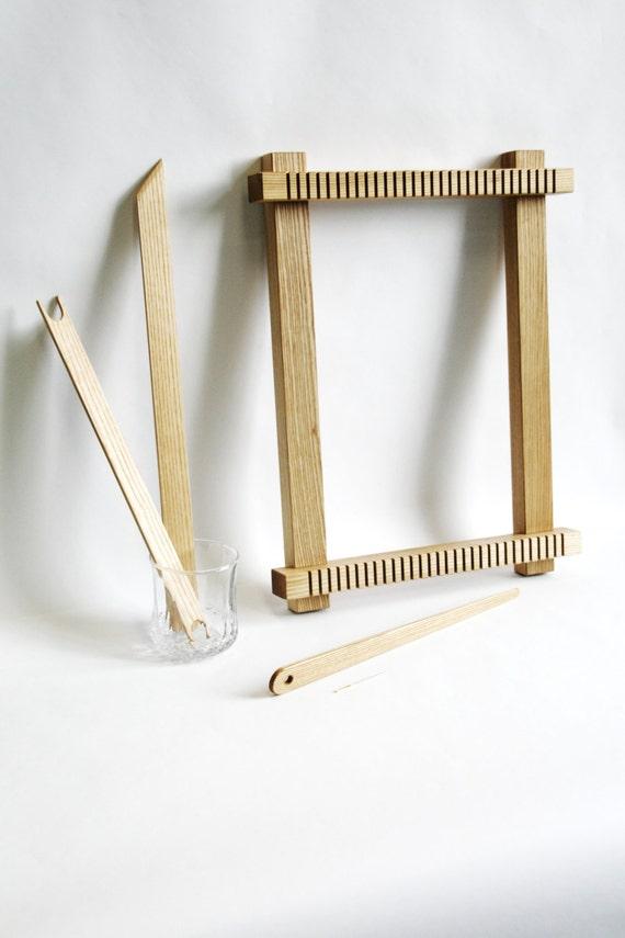 Basket Weaving Tools Beginners : Weaving loom kit tools beginner for