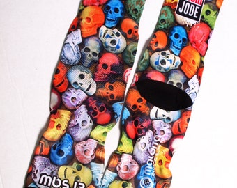 MBS 13 skulls socks colors