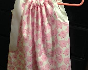 Pink Pig Pillowcase Dress (18-24 Months)