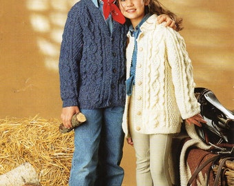 baby toddler childs aran sweater knitting pattern aran jumper