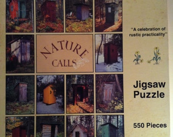 Nature Calls A Celebration of Rustic Practicallity Jigswa Puzzle < 550 pieces 1990