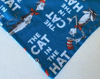 Dr. Seuss Cat in the Hat Dog Bandana