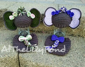 Newborn Crochet Outfit Elephant Outfit Newborn by ...