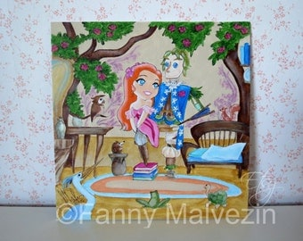 Giselle (Enchanted) - Original painting