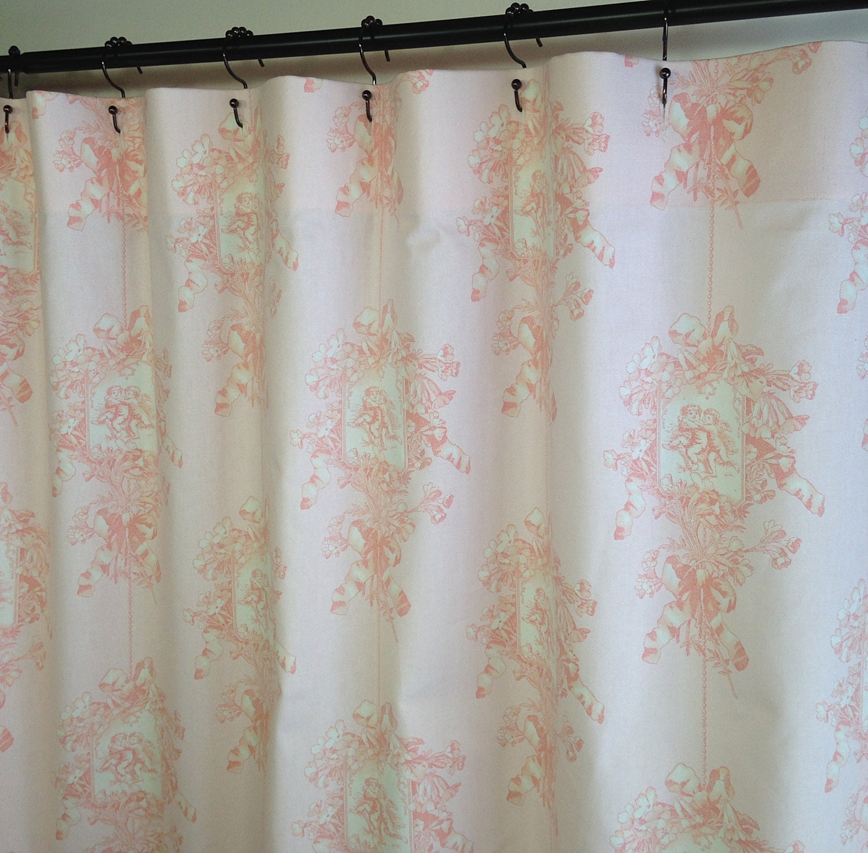 Fabric Shower Curtain Custom High End Designers P Kaufmann