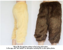 Faun Costume Pants FREE SHIPPING Fur Pants Cosplay Costumes, Gorilla CostumeFaun Fur, Baphomet Faun Costume, Satyr Costumes Gorilla Pants
