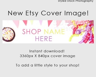 Etsy Cover Photo / Etsy Cover Image / Premade Etsy Banner / Premade Cover Photo / Shop Banner / Cover Image / Stock Photo / Style-116