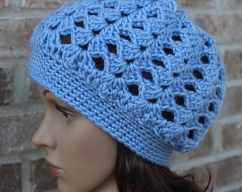 Easy Crochet Cap Pattern, Crochet Beanie Pattern, Hat Pattern, Cap Pattern, Instant Download