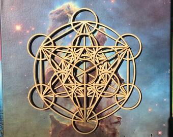 Metatron's Cube Dreamcatcher Sacred Tribe