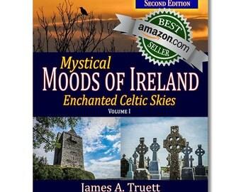 FREE U.S. SHIPPING! Vol. I, Enchanted Celtic Skies  - 2nd  Edition (Mystical Moods of Ireland), Ireland Photography, Irish Gifts, Ireland
