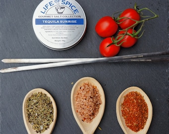 Premier Collection - Spices - three tins - Great Taste Award 2015 - personalised tag - gift for foodie - gift for dad - mexican - 135g