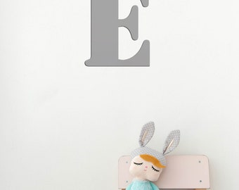 "Large Metal Letter ""E"" 12"" / Wall Letters / Nursery Letter 'E' / Wedding Letters / Wedding Gift"